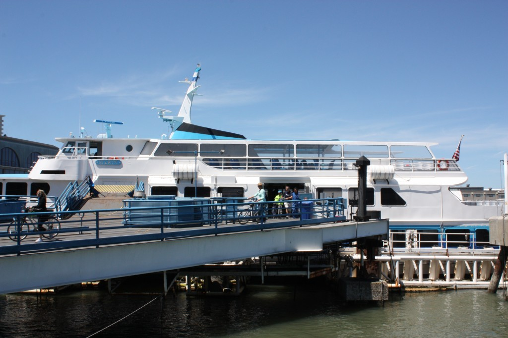 Our chariot. Err, ferry.