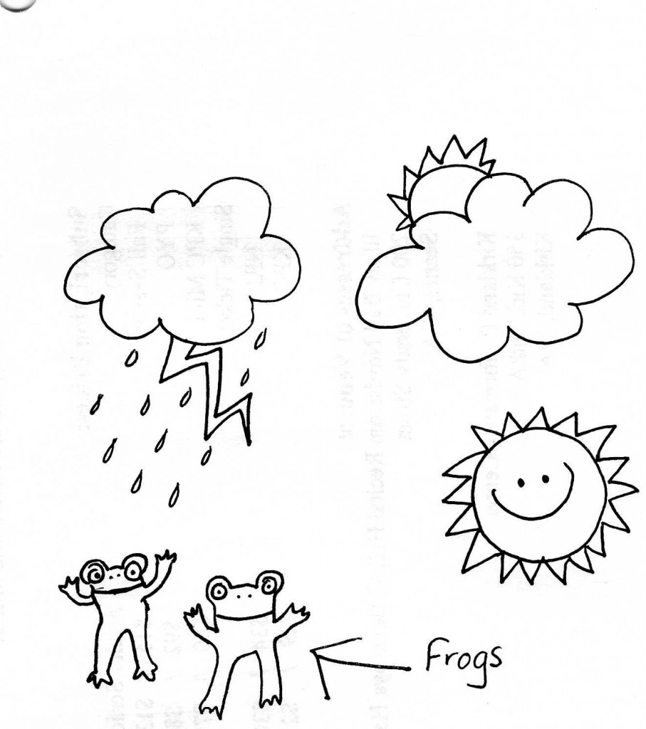I swear there's a documented case of it raining frogs, but Rand says that I made that up.
