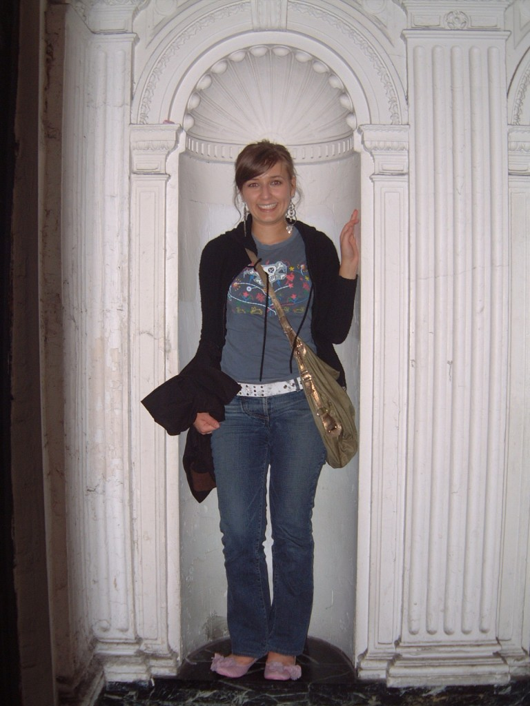 2005: Every element of this outfit should be burned (except for that purse, which I still have. And that jacket, which I WISH I still had.)