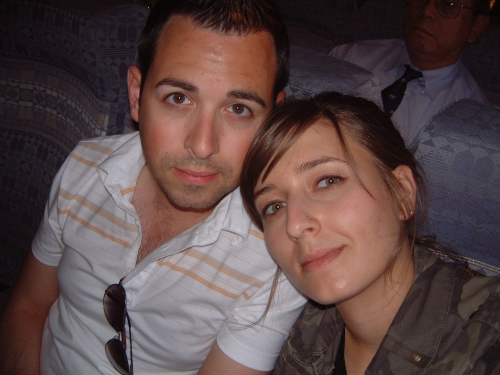 Rand and I in 2005. Filed under Lovers, Young.