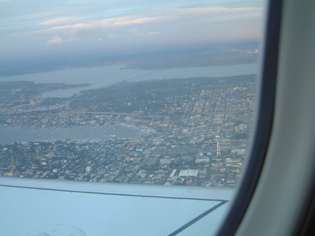 Seattle from above: 2005