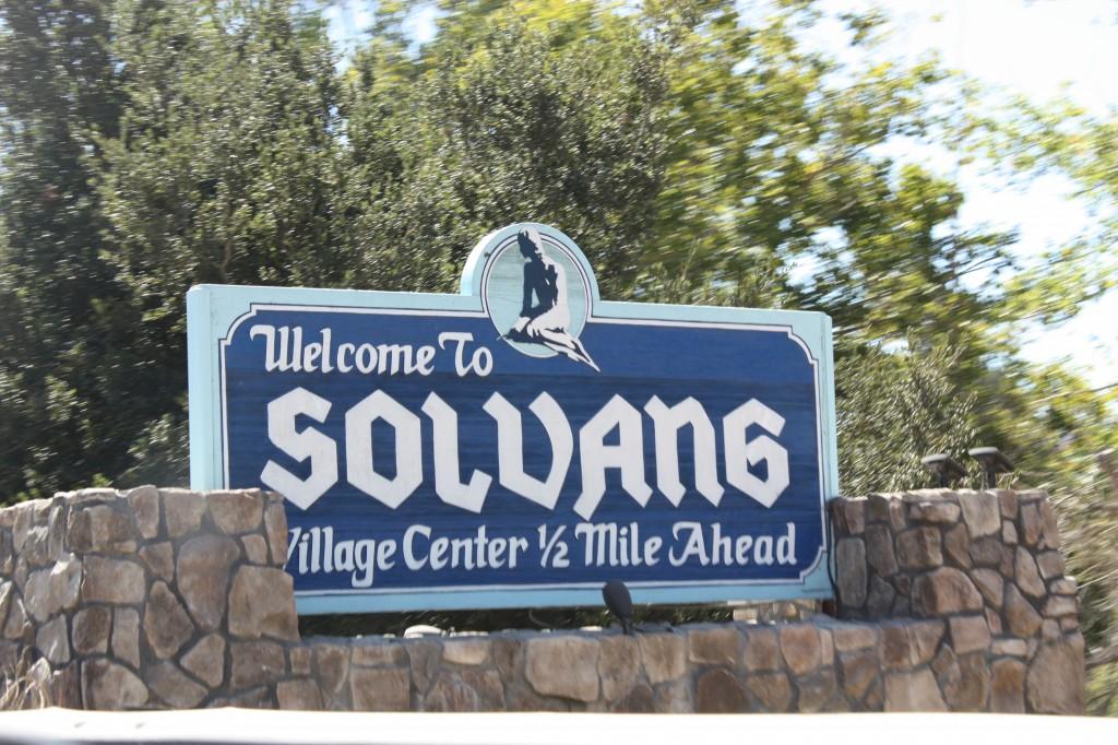 "The name ""Solvang"" means ""sunny fields"" in Danish. Mmmm ... Danish."