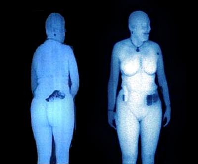 Full body image scan